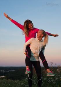 Favoritbild från veckans plåtning till Systrar i bergen. Systerskap, berg och äventyr.